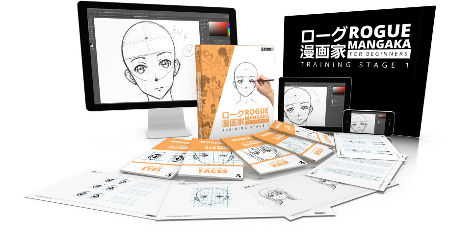 how to draw anime with the rogue mangaka method